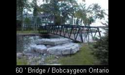 60' Bridge - Bobcaygeon Ontario