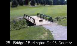 25' Bridge Burlington Ontario