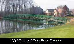 160' Bridge Stouffville Ontario