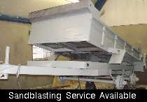 Sandblasting / Painting / Restoration available at our site